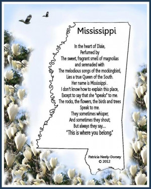writes poetry in celebration of her Southern heritage in Mississippi ...