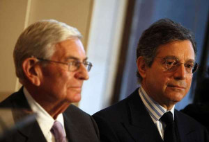Eli Broad, left, and Jeffrey Deitch in 2010. Deitch, director of L.A ...