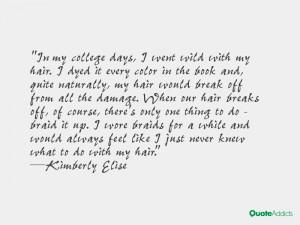 Kimberly Elise Quotes