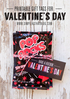 Reese's Pieces Valentines from One Creative Mommy