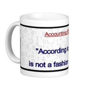 Accounting Mugs Coffee...
