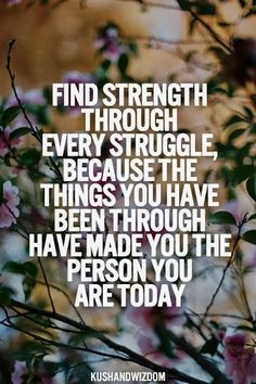 Finding Strength Quote