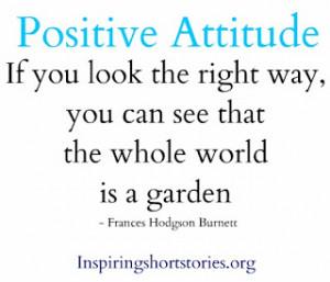 Positive attitude quotes, famous positive attitude quotes
