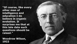woodrow, wilson, organic, evolution, question, religion, the, south