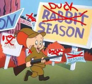 Elmer Fudd Duck Season Image
