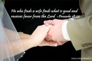 Marriage Bible Verses Proverbs