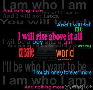 am who i am by vampiretrash