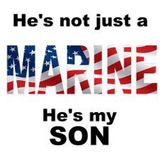 Marine - My Son Poster