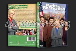 Parks and Recreation Season 2 dvd cover