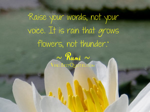 Words quotes - rumi quotes