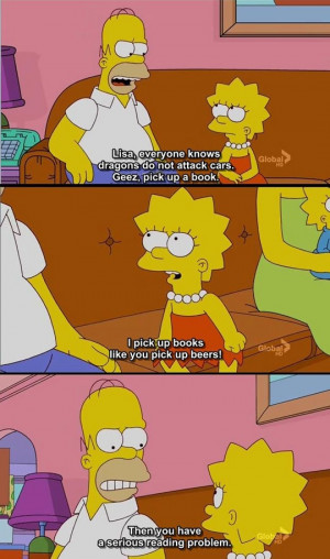 Classic Homer Quote - Pic