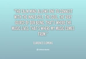 Calm Mind Quotes