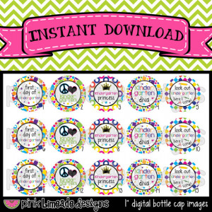 Kindergarten Princess - cute sayings for school - INSTANT DOWNLOAD 1 ...