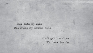 Demons Lyrics Imagine Dragons
