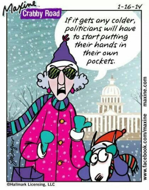 Maxine about winter.....