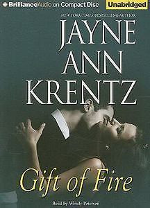 Gift of Fire by Jayne Ann Krentz 2009 CD Unabridged