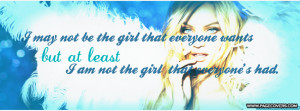 Girly Quotes Facebook Cover