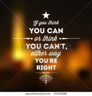 Abstract Background with typographical quote