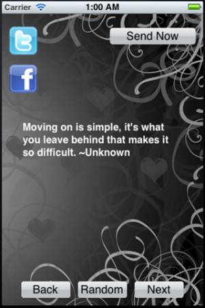 Download Broken Heart: Sad Love Quotes. iPhone iPad iOS