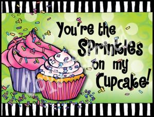 Suzy Toronto Note Cards Sprinkles On My Cupcake