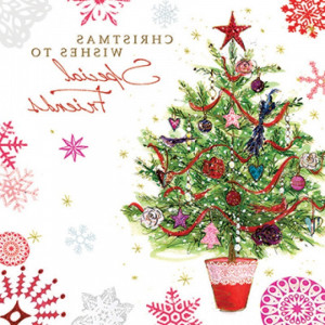 Christmas Card Special Friends Christmas Wishes
