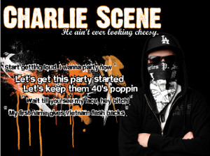 Hollywood Undead Charlie Scene Quotes Charlie scene poster 3 by