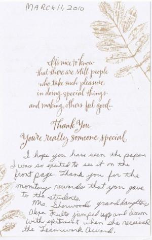 graduation thank you cards sayings