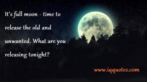 Full Moon Quotes | Full Moon Quote | Full Moon Quotations | Nice ...