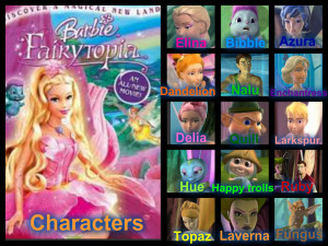Barbie Movies barbie fairytopia charcters