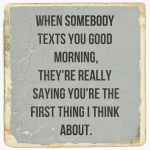 Romantic Good Morning Text...