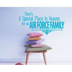 Air Force Family Patriotic Vinyl Wall Decal Sticker Mural Quotes Words
