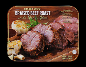 Beef Roast Braised In Zinfandel Recipe — Dishmaps