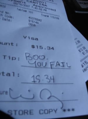 12 Absolutely Hilarious Receipt Tips