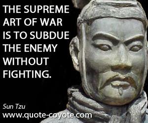 Sun Tzu Art War Quotes