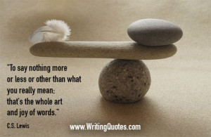 » Quotes About Writing » CS Lewis Quotes - Art Joy - Famous Quotes ...