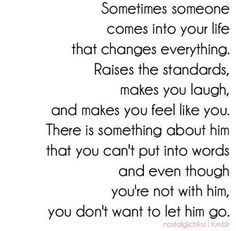 And then he will turn out to be in love with someone else and you'll ...