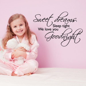 tweet sweet dreams wall quote wall stickers from abode wall art
