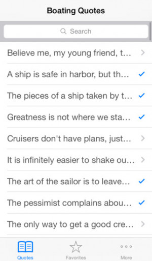 Boating Quotes - Inspirational thoughts for the sailing enthusiast