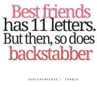 backstabber #friendship #bestfriends