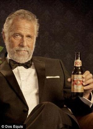 Funnies pictures about Beer Dos Equis Man