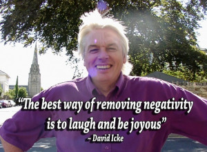 his is David Icke , crusader for truth and freedom — at his finest ...