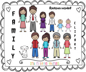 Adoptive Families Clipart Kids clipart - my family clip