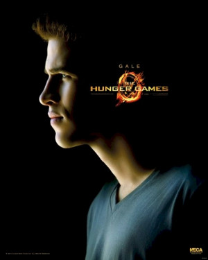 Hunger Games - Gale Hawthorne Profile Movie Poster