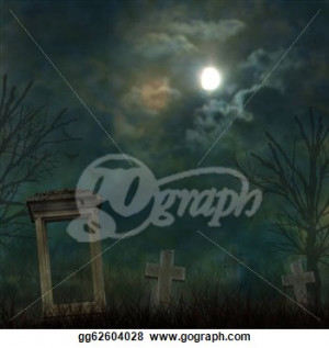 ... -halloween-graveyard-with-dark-clouds-and-ominous-moon_gg62604028.jpg