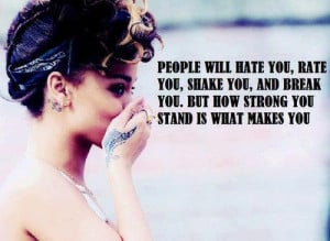 30+ Rihanna quotes about haters