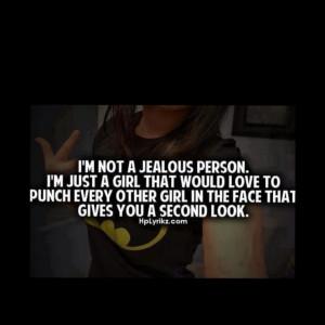 Im Not Jealous Quotes