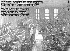 Good Quaker quote