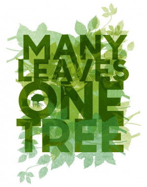 epic... many leaves one tree.. children's by studiomarshallarts, $5.00