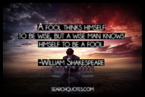 Will's Quotes o' the Day