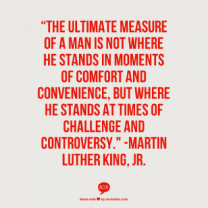 Inspirational Quote-MLK